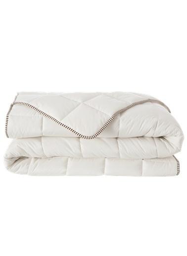 Hibboux 155x215 Woozy Yün Yorganı 300 gr/m2 Beyaz
